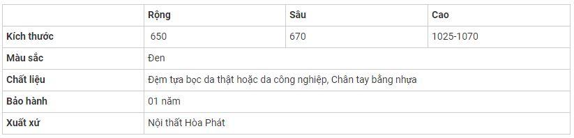 ghe-hoa-phat-sg901-thong-so