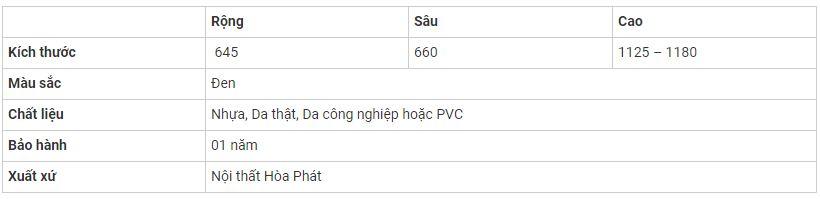ghe-hoa-phat-sg903-thong-so