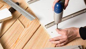 Cách tháo lắp bàn gỗ ép
