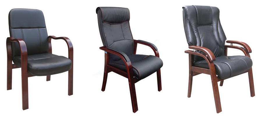ghế họp chân gỗ hòa phát